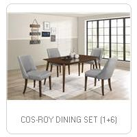COS-ROY DINING SET (1+6)